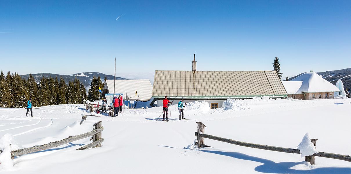 Hütte Bergstation Marienseer Schwaig