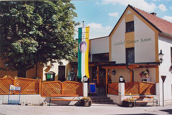 """Foto Wirtshaus """"zum grünen Baum"""""""